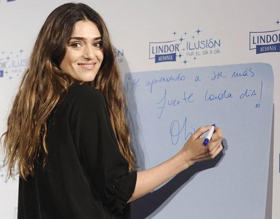 Ángela Molina: 'Olivia tiene suerte porque Sergio es un padrazo'
