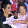 Tras la pelea, llega la calma para Halle Berry y su hija Nahla