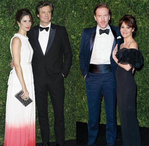 Colin Firth, Damian Lewis, Danny Boyle y Judi Dench, estrellas de una noche de premios