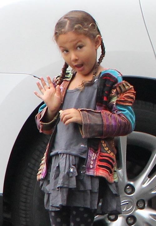 Nahla, la hija de Halle Berry y Gabriel Aubry, investigada por el Departamento de Protección del Menor