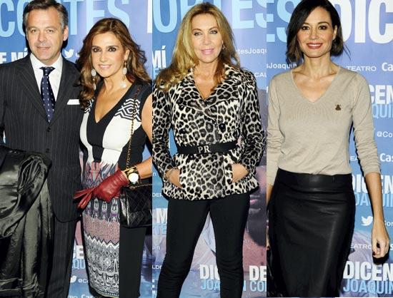 Mónica Cruz luce su embarazo en el estreno del nuevo espectáculo de Joaquín Cortés
