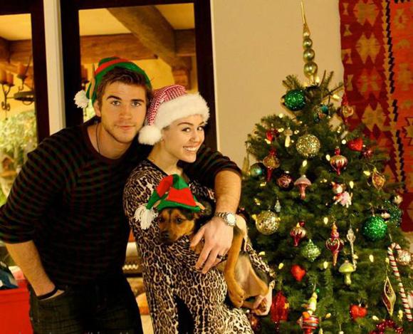 ¿Las últimas navidades de soltera de Miley Cyrus?