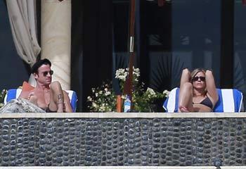 Jennifer Aniston y Justin Theroux, año nuevo en Los Cabos