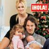 Exclusiva en ¡HOLA!: Carolina Cerezuela y Carlos Moyá nos presentan a su hijo, Carlos