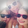 Gwyneth Paltrow abre por primera vez su álbum familiar en la red