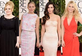 Las nuevas mamás Claire Danes, Adele, Sienna Miller y Megan Fox deslumbran en la fiesta del cine
