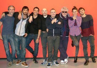 Las reacciones de Blanca Suárez y Miguel Ángel Silvestre al ver su película 'Los amantes pasajeros' a las órdenes de Almodóvar