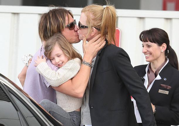 ¡Te he echado de menos! El dulce y romántico recibimiento de Keith Urban a Nicole Kidman