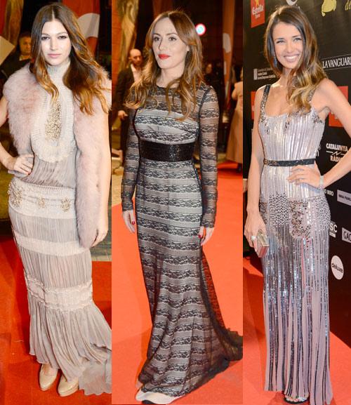 Natasha Yarovenko, Irene Montalá y Ursula Corberó, noche de bellezas en los premios Gaudí