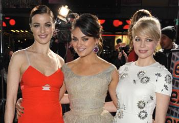 Rachel Weisz, Mila Kunis y Michelle Williams, tres estilos diferentes para tres brujas de cuento