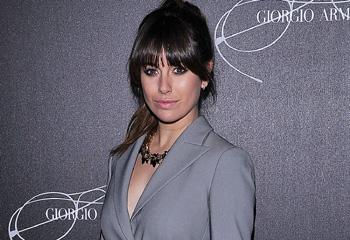 Blanca Suárez, la más bella y 'chic' en una fiesta de moda en Milán