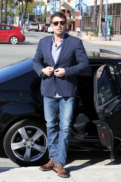 Ben Affleck cumple su promesa y se afeita la barba tras ganar el Oscar