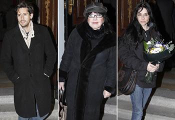 Numerosos compañeros de profesión dan su último adiós a la actriz María Asquerino