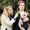 El divertido 'look' de Marlowe, hija de Sienna Miller