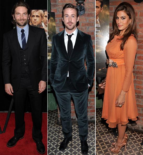 Ryan Gosling y Eva Mendes estrenan la película en la que se enamoraron
