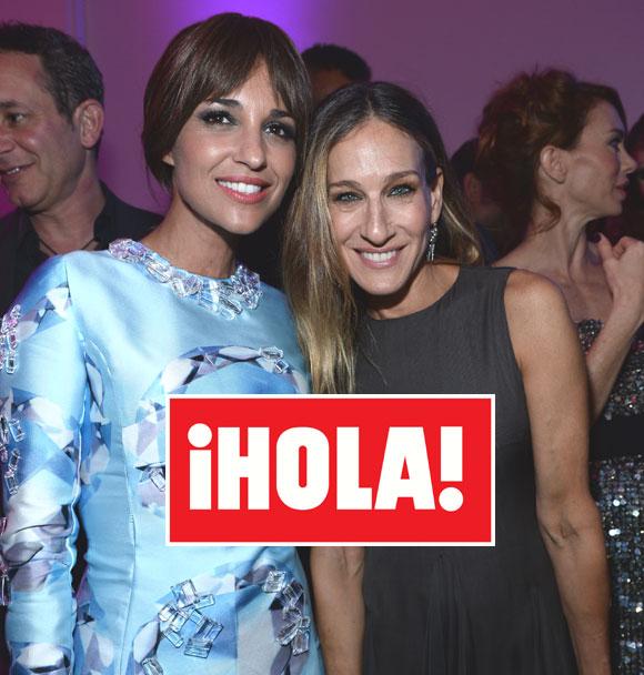 En ¡HOLA!: Sarah Jessica Parker y Paula Echevarría, dos divas del 'glamour', por primera vez juntas