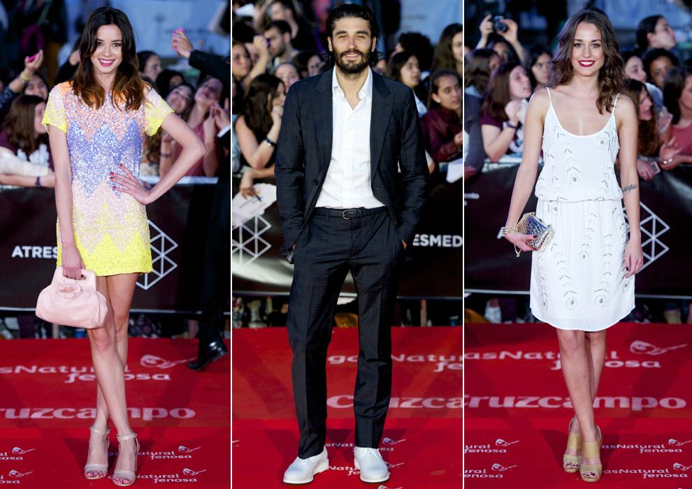 Mario Casas, Blanca Romero, Kira Miró, Dafne Fernández... pisan fuerte en la alfombra roja de Málaga