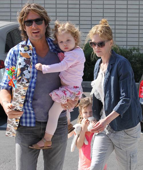 Las 'princesitas' de Nicole Kidman y Keith Urban se hacen mayores