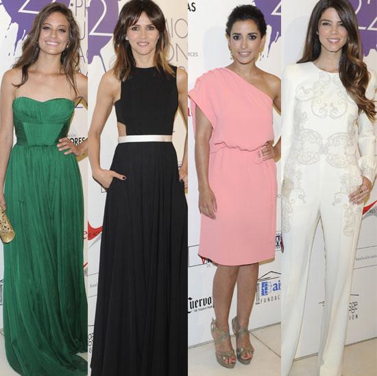 Michelle Jenner, Goya Toledo, Inma Cuesta... ponen color a los premios de la Unión Actores