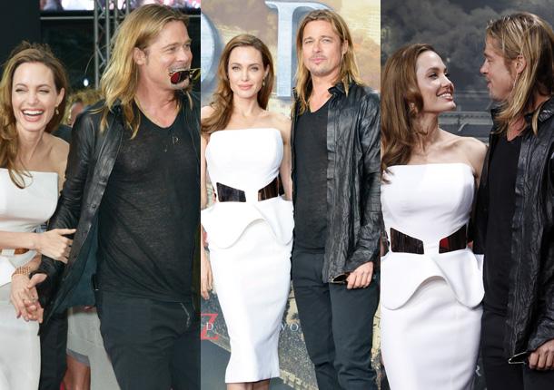 Brad Pitt y Angelina Jolie, dos superestrellas convertidas en superpadres