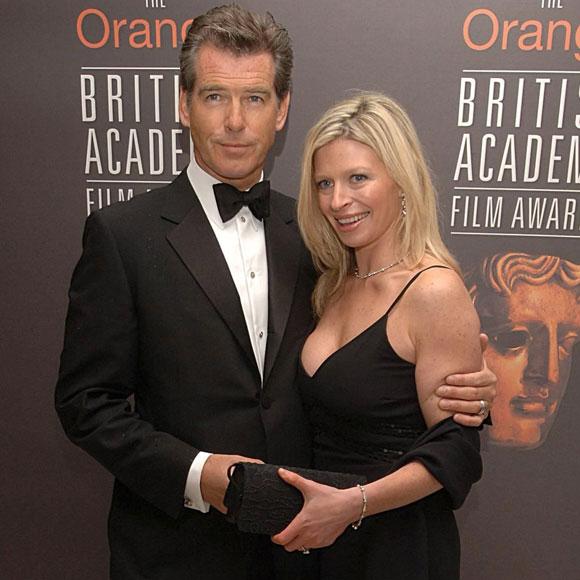 El actor con su hija Charlotte durante la entrega de los Premios BAFTA en Londres en 2006