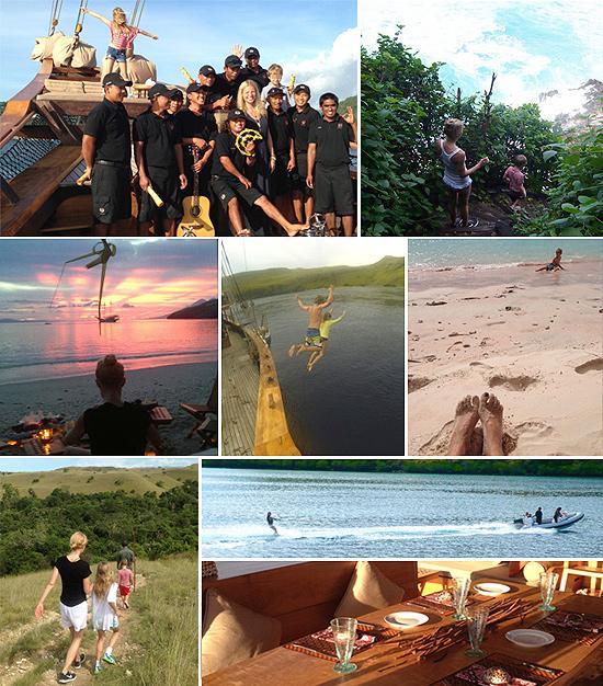El viaje a Indonesia de Gwyneth Paltrow con sus hijos, un 'sueño hecho realidad'