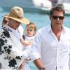 Uma Thurman y Arpad Busson se dan una 'tregua' para el amor durante sus vacaciones familiares en Saint-Tropez