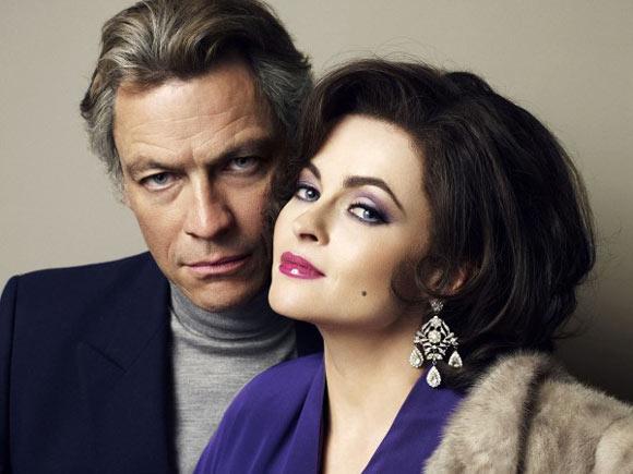 La fascinante trasnsformación de Helena Bonham Carter en Elizabeth Taylor