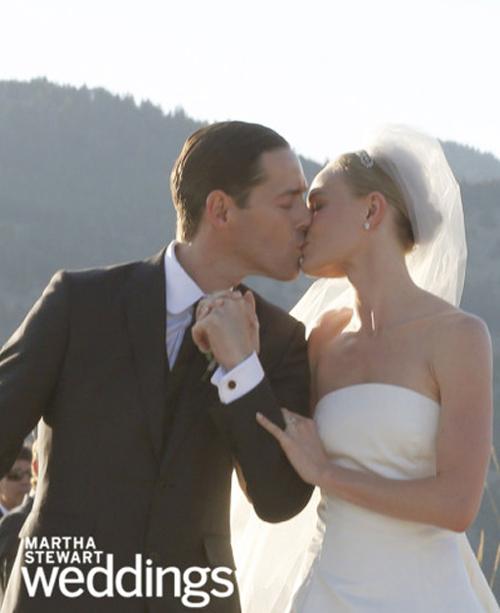 La romántica y bucólica boda de Kate Bosworth y Michael Polish