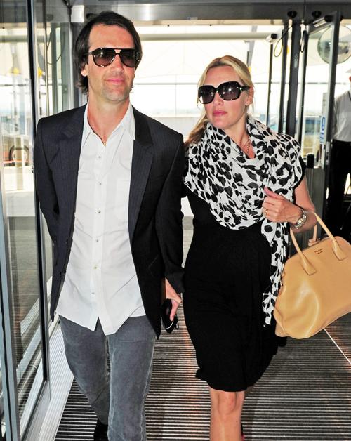 Primeras imágenes de Kate Winslet embarazada de su tercer hijo
