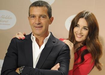 Antonio Banderas y Paz Vega, convertidos en fotógrafo y musa con un 'dorado secreto' en común