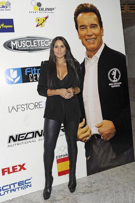 Arnold Schwarzenegger reúne a Guti, Mónica Hoyos, Rosa