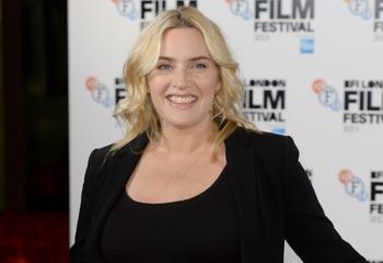 La triunfal aparición de Kate Winslet, una radiante premamá en Londres