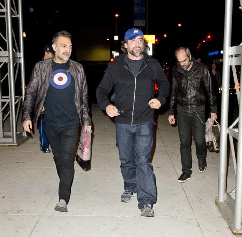 Javier Bardem, de marcha con Luis Tosar en Nueva York