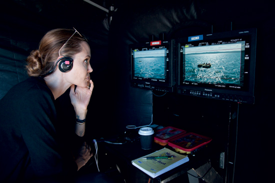 Primeras imágenes de Angelina Jolie en el rodaje de su segunda película como directora