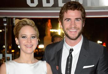 Jennifer Lawrence y Liam Hemsworth 'incendian' Londres con la secuela de 'Los Juegos del Hambre'