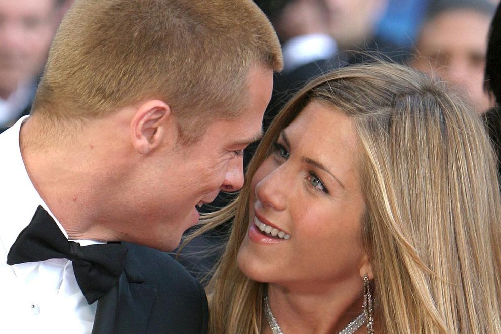 Brad Pitt y Jennifer Aniston formaban una de las parejas más idílicas de Hollywood