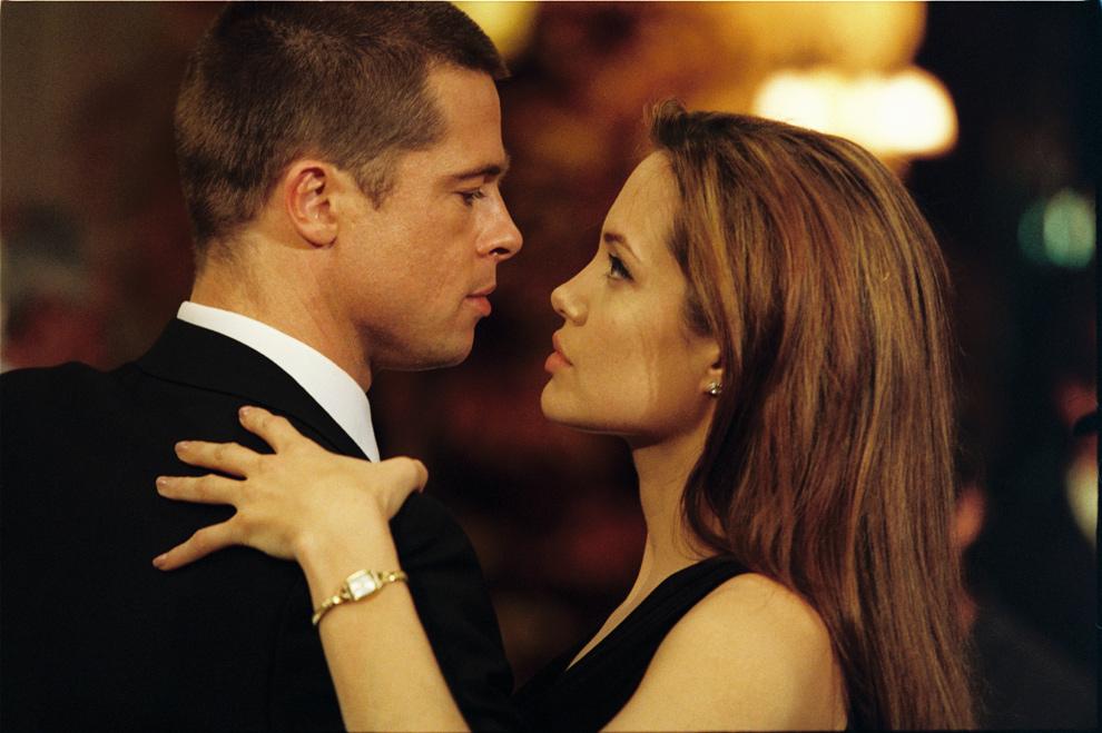 'Sr.y Sra. Smith' supuso el comienzo del romance entre Brad y Angelina