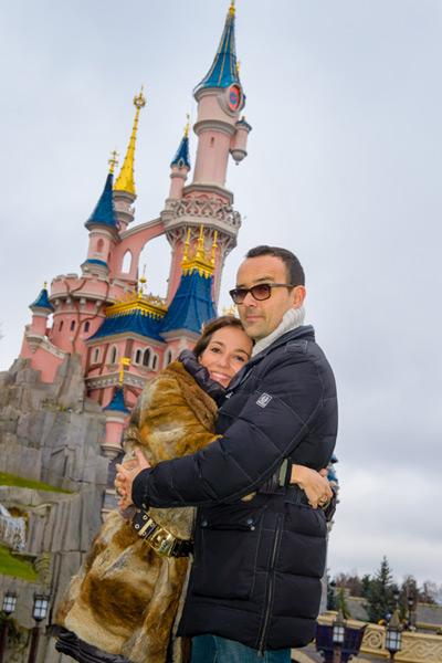 Risto Mejide saca su lado más familiar en Disneyland