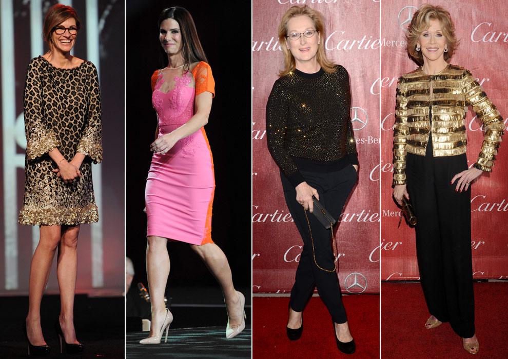 Julia Roberts, Sandra Bullock, Meryl Streep... inauguran la temporada de premios en Hollywood