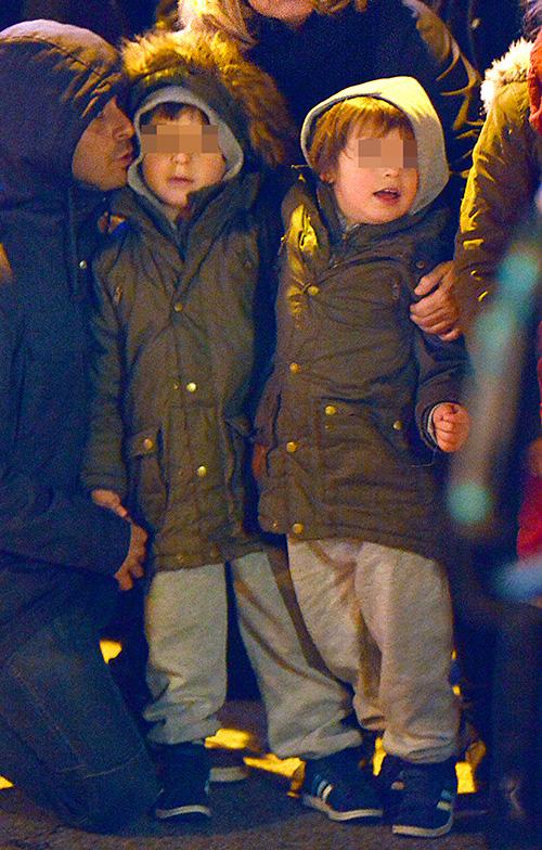 Hugo Silva disfruta con sus hijos de la magia de los Reyes Magos