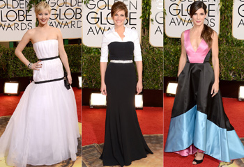 Las estrellas brillan en la alfombra roja de los Globo de Oro
