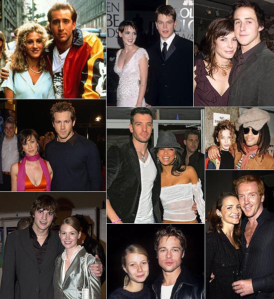 ¿Te acordabas de estas parejas?