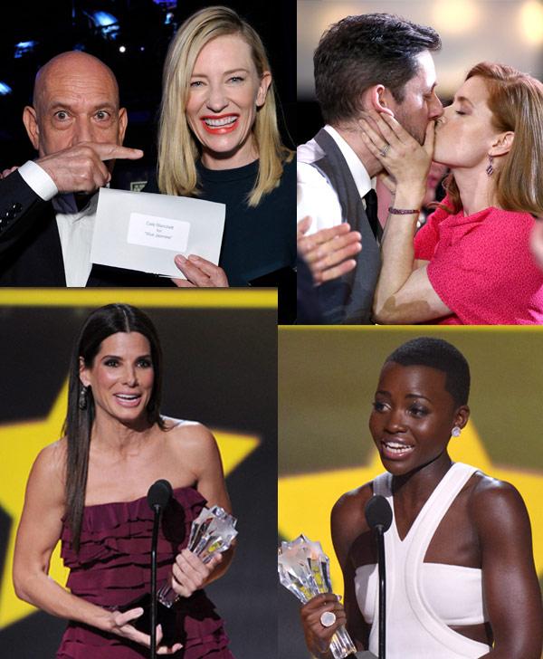 Sandra Bullock, Cate Blanchett, Amy Adams y Lupita Nyong'o, póquer de damas en los premios de la crítica