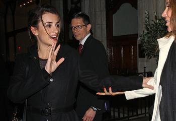 Penélope Cruz disfruta de su vida en Londres