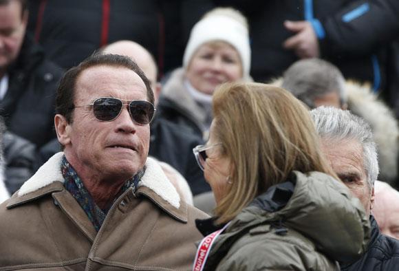 Arnold Schwarzenegger vuelve a encontrar el amor a sus 66 años
