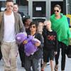 La familia Jolie-Pitt al completo regresa a Los Ángeles tras una larga estancia en Australia