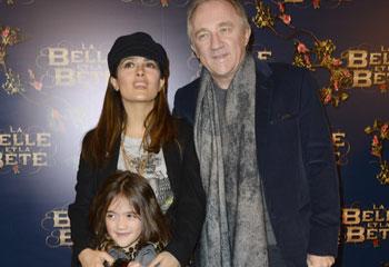 Salma Hayek y su hija Valentina, dos 'celebrities' de estreno