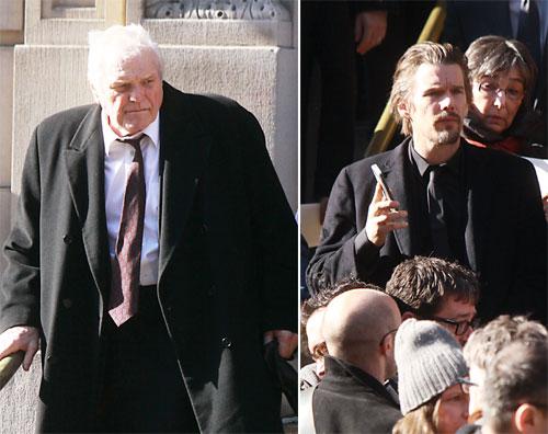Los amigos más cercanos de Philip Seymour Hoffman recuerdan al actor en su funeral