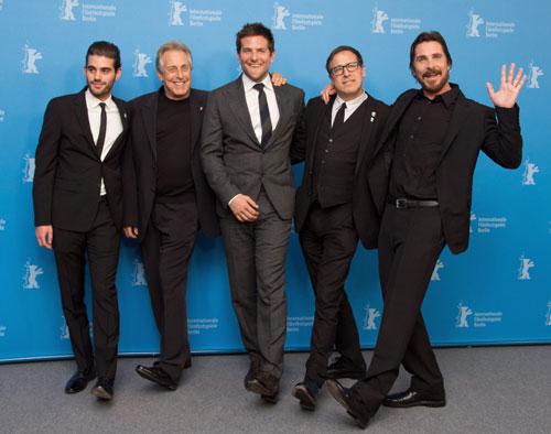 George Clooney, Matt Damon y Christian Bale, los actores más 'gamberros' de la Berlinale